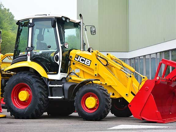 JCB 3CX 70th anniversary backhoe