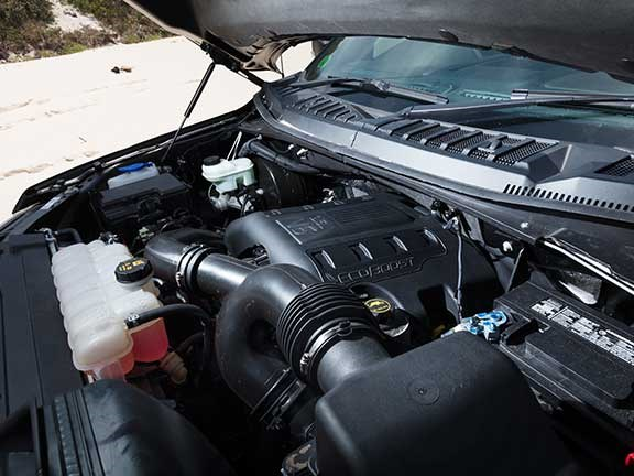Ford F150 V6 engine