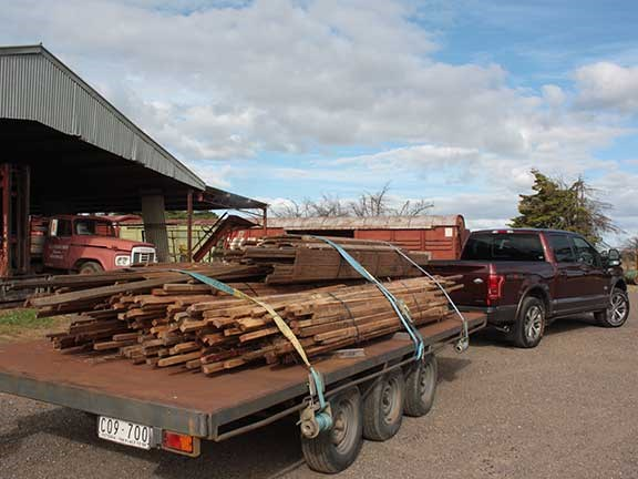Ford F150 towing logs