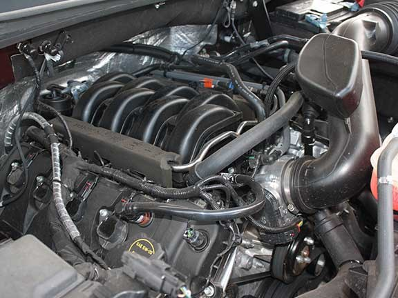 Ford F150 V8 engine