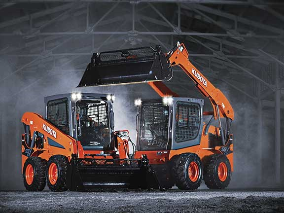 Kubota SSV loaders