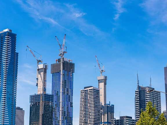 Melbourne apartment construction