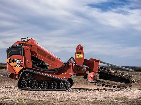 Ditch Witch ST37X trencher
