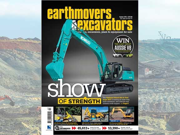 Earthmovers and Excavators issue 331 cover