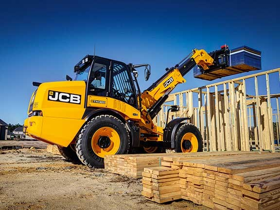 JCB TM320 telescopic loader