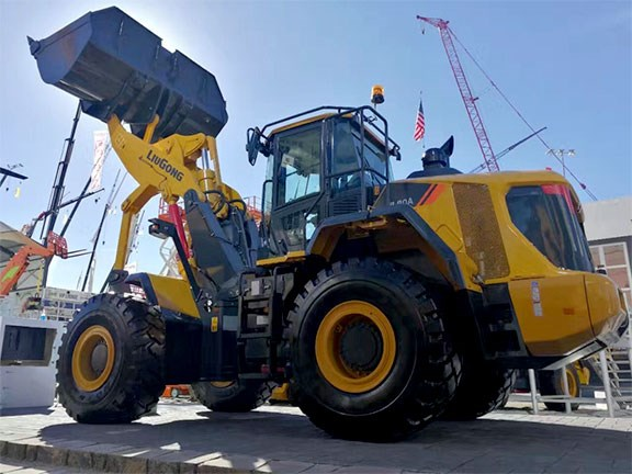 LiuGong Vertical Lift Wheel Loader
