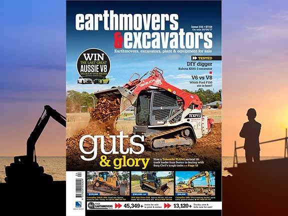 Earthmovers and Excavators issue 332
