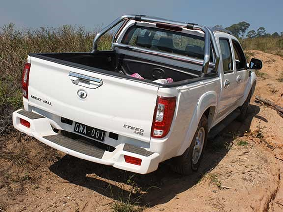 Great Wall Steed ute rear