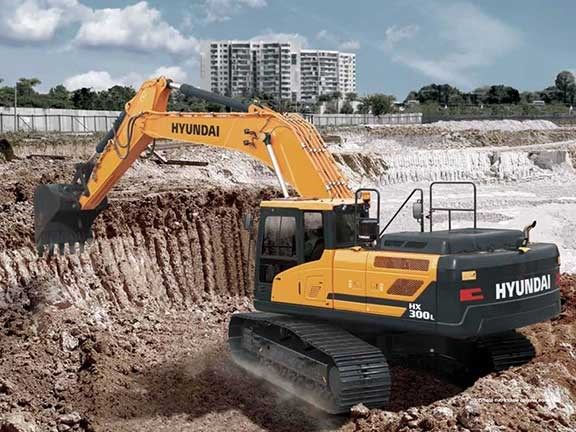Hyundai HX300L wheel loader