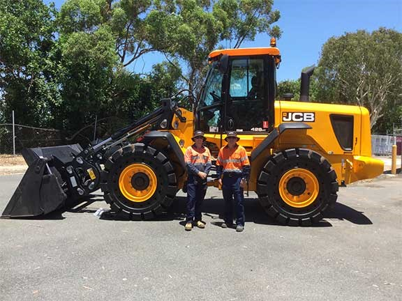 JCB 426 HT wheel loader