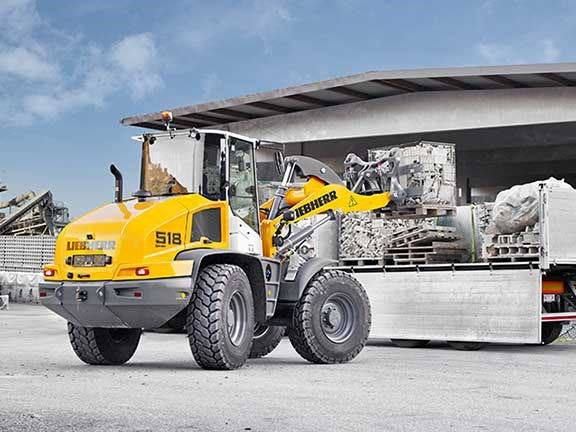 Liebherr L518 wheel loader