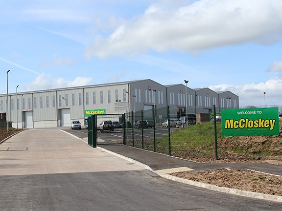 McLoskey manufacturing plant