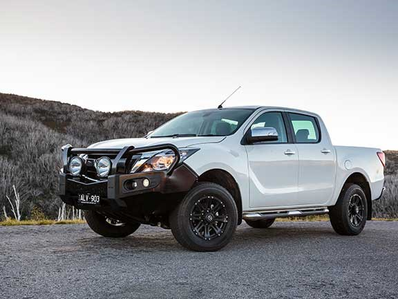 Mazda BT50 with bullbar