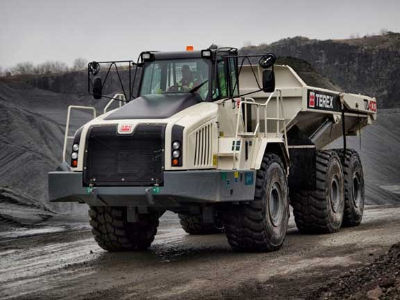 Terex Trucks TA400 articulated hauler