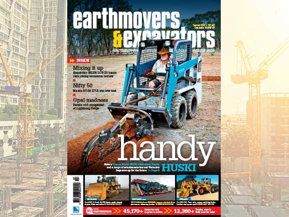 Earthmovers and Excavators issue 335 cover