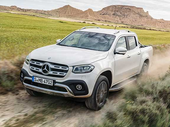 Mercedes Benz X-Class Power