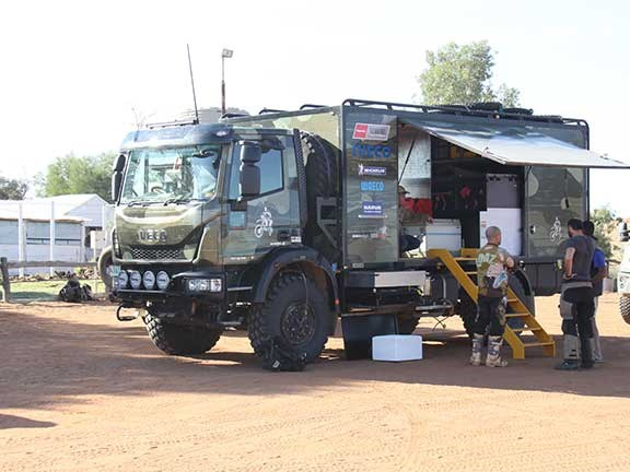 Iveco ML150 Eurocargo 4x4 at Andado Homestead
