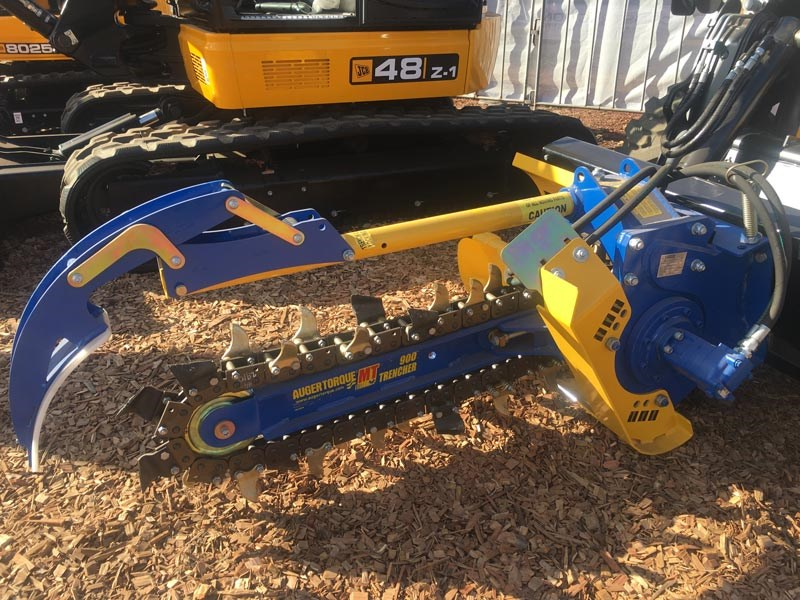 The Auger Torque MT Range of trenchers is designed for Excavators between 2.5T-5T, Skidsteer Loaders up to 80hp and also Mini Loaders