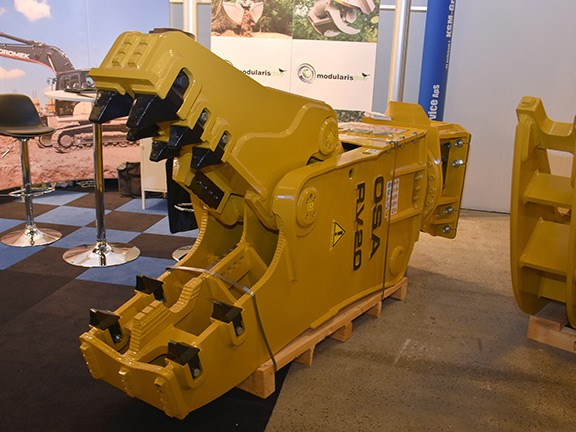 OSA Demolition RV20 crusher