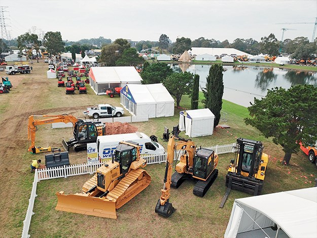 DDT 2019 as seen from above the Allied Equipment Sales site