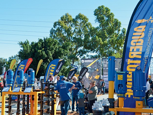 Auger Torque and Doherty Couplers and Attachments won best large stand & best stand overall