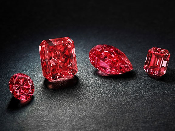 Argyle red diamonds gallery