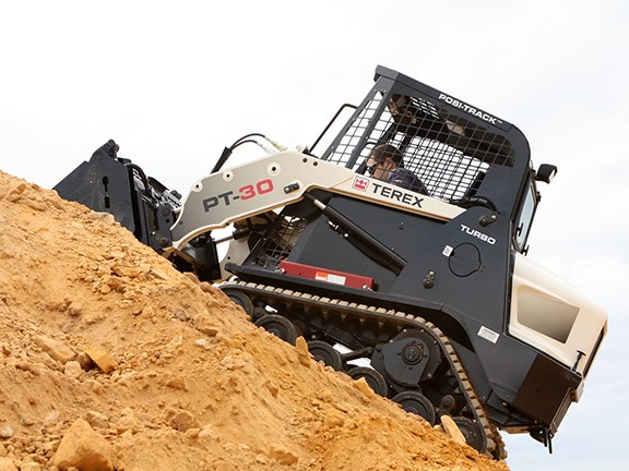 The Terex PT-30 Posi-Track loader is known for its versatility.