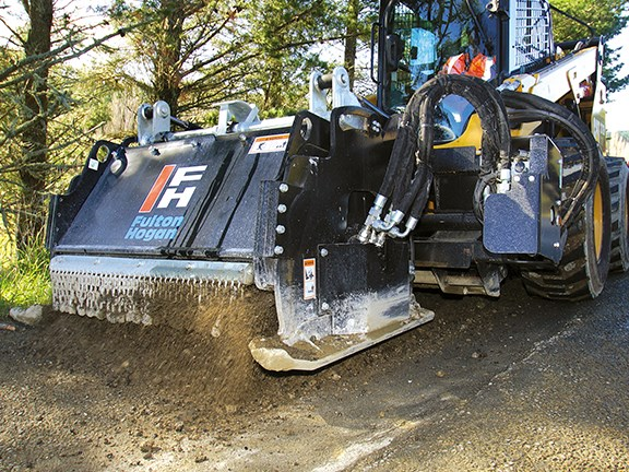The Cat 272D is a robust little piece of engineering.
