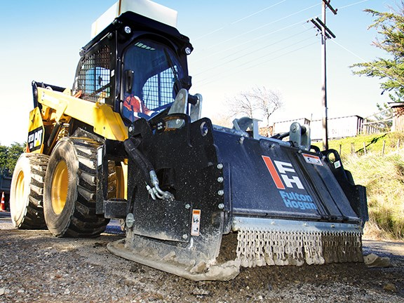 Operators are impressed with the silence of the Cat 272D's cab.