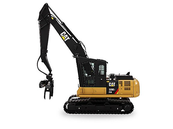 Cat 320D2 forest machine