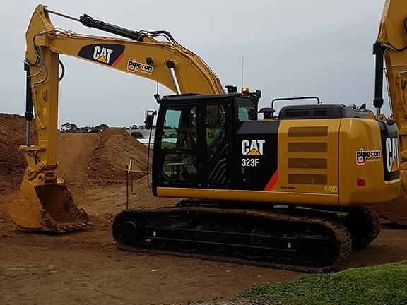 Cat F series excavators
