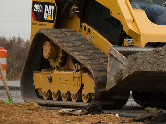 Rubber track costs can be controlled with proper maintenance and operation