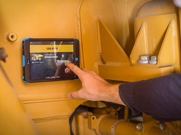 The ChekRite iPad equipment inspection app.