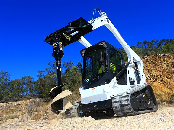 Digga's PD3 auger drive delivers 3544 Nm of torque.