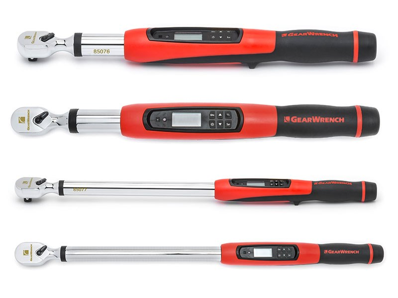 The new GearWrench Electronic Torque Wrench