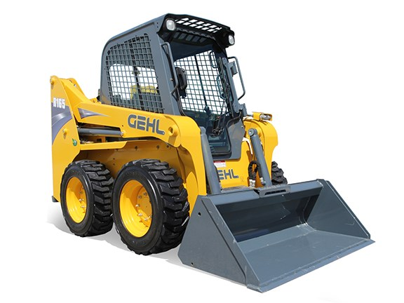 The Gehl R165 skid-steer loader.