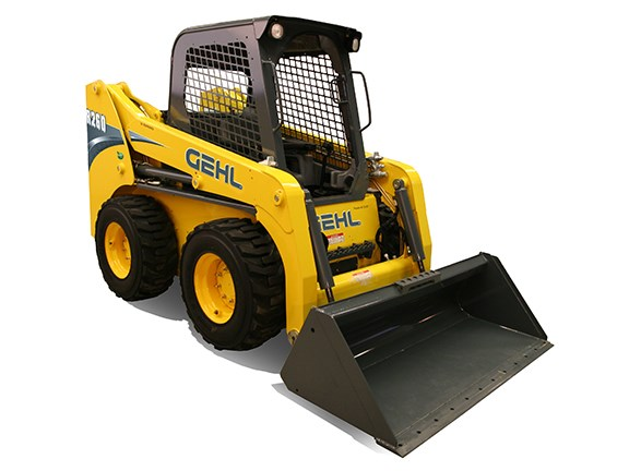 The Gehl R260 radial-lift skid-steer loader.