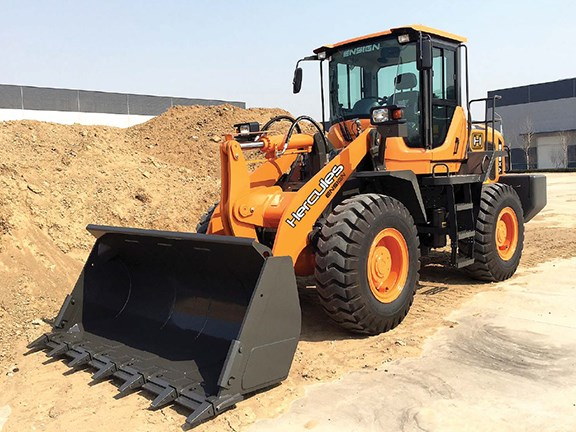 Hercules YX638 wheel loader
