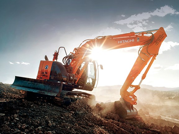 Hitachi ZAXIS-5 excavators