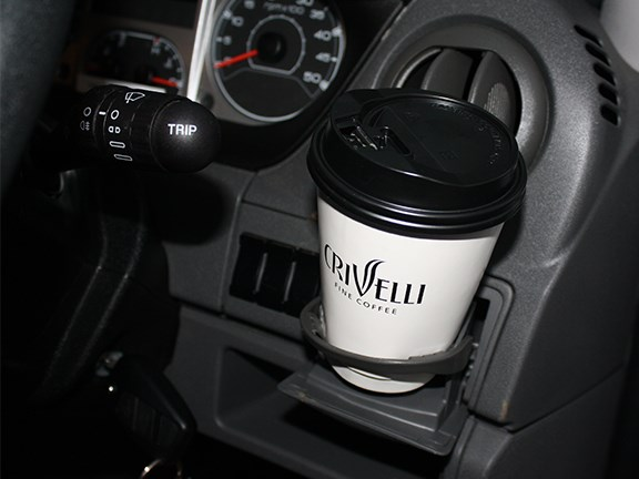 The cup holders are absolutely useless unless you like wearing your coffee rather than drinking it.