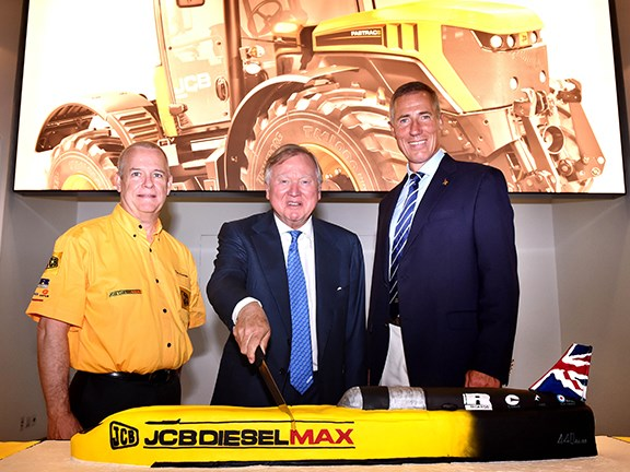 JCB Dieselmax world land speed record anniversary