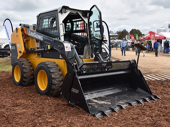 Boasting a 62kW Yanmar engine, rated load of 1 tonne and bucket capacity of 0.6m3, the LiuGong 385B skid steer loader is sold by AWD Group as a tough, high-quality and low-price alternative to the big names.