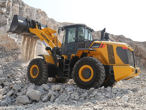 The new LiuGong 856H wheel loader.