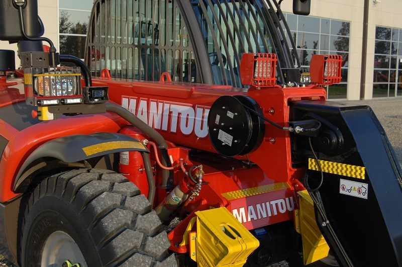 The new Manitou range has been designed with safety and efficiency at top of mind.