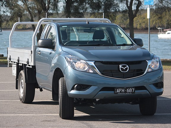 The Mazda BT-50 4x2 XT Hi-Rider ute.