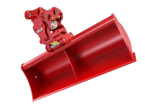 The Miller PowerLatch Tilt coupler.