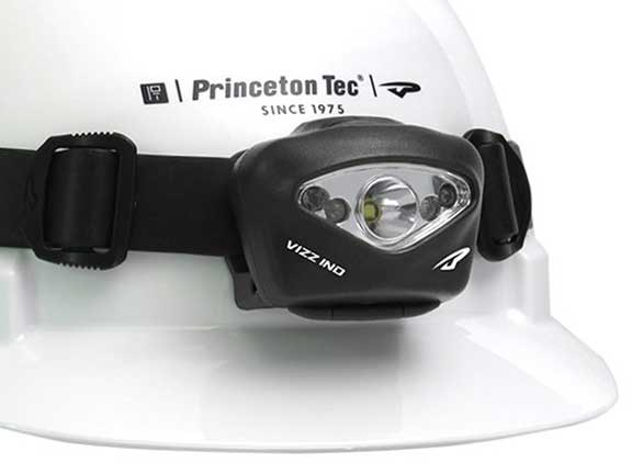 The Princeton Tec Vizz II headlamp
