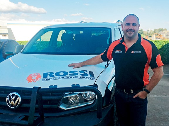 Rossi Earthmoving Parts general manager Glen Blakely