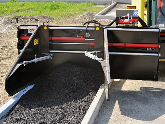 Simex ST asphalt float.