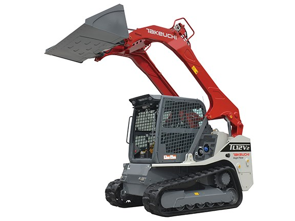 Takeuchi TL12V-2 vertical lift compact track loader